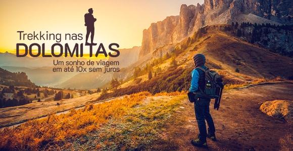 Pacote de Viagem para o Trekking nas Dolomita