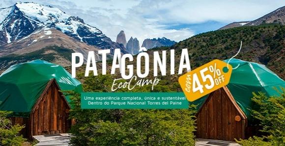 Promoção para Patagônia EcoCamp