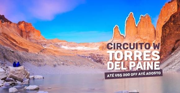 Promoção Circuito W Torres del Paine