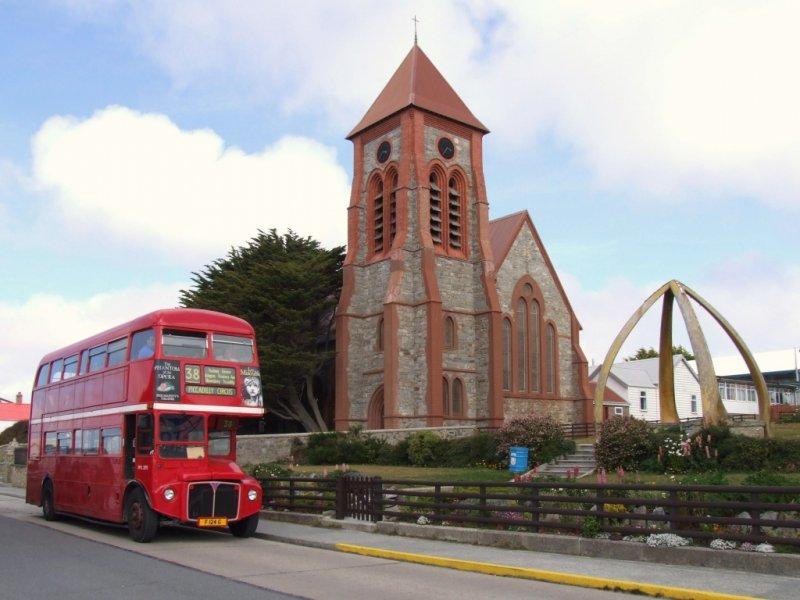 Ilhas Falklands(Malvinas) - Catedral