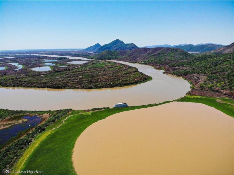 Pantanal Sul e Serra do Amolar - Créditos: Gustavo Figueiroa