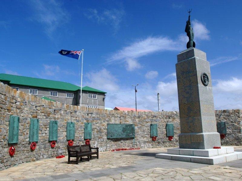 Ilhas Falklands(Malvinas) - Memorial da Guerra de 1982
