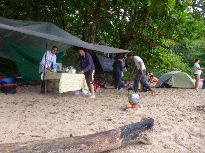 Pacote de Viagem de Caiaque Oceânico Ubatuba x Paraty - Acampamento