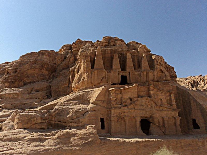 Construções em Petra - crédito: Patrícia Dozzi