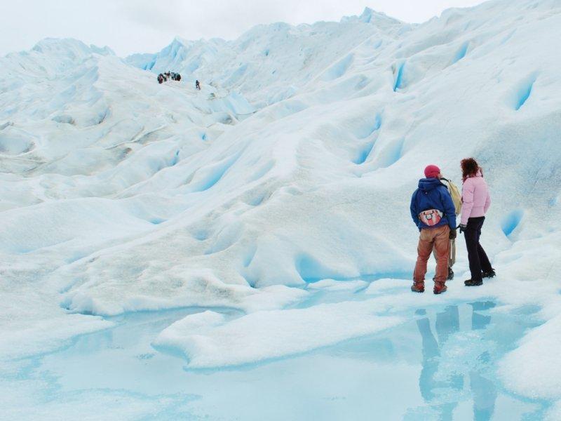 Opcional: caminhada sobre o gelo no Glaciar Perito Moreno