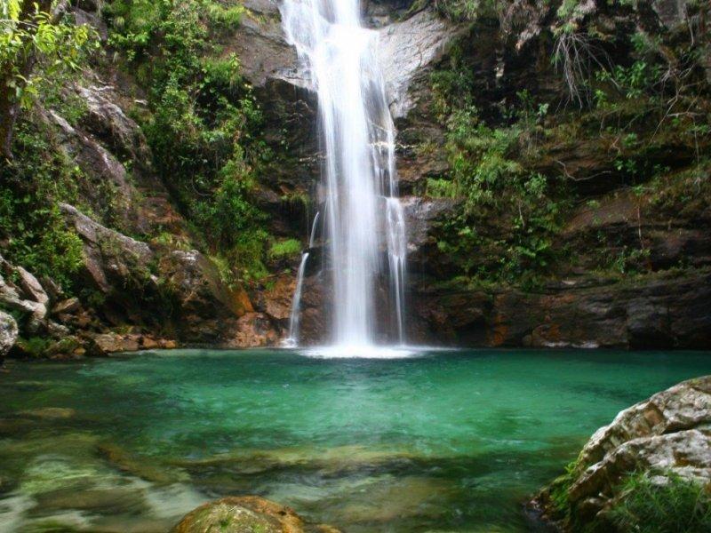 Cachoeira Santa Barbará - Foto Ion David