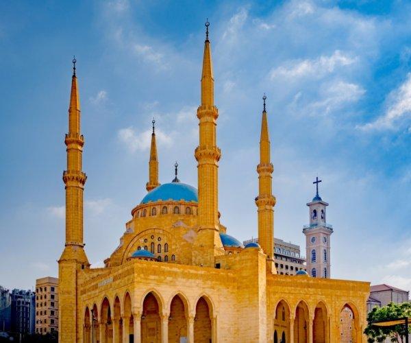 Mesquita em Beirute