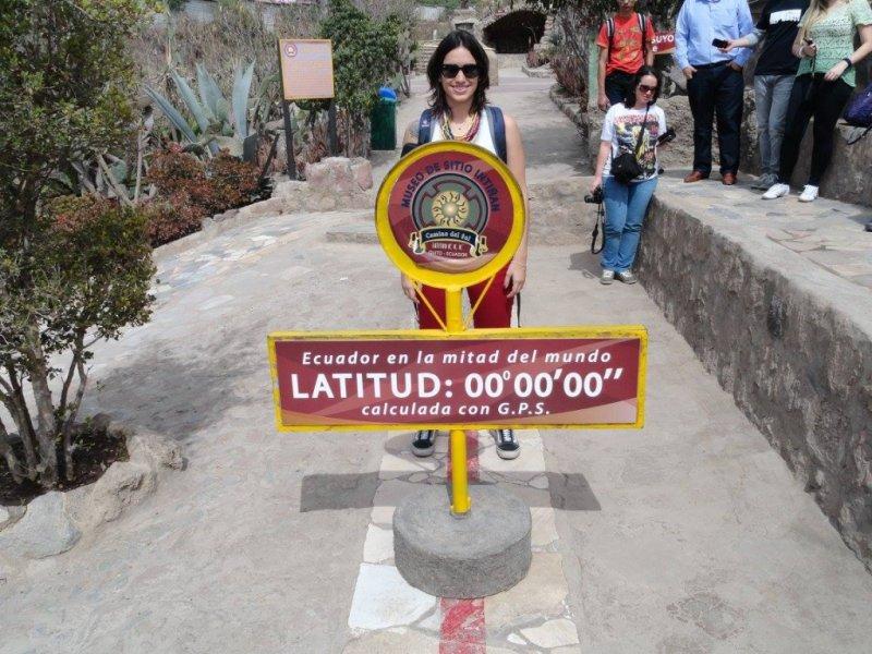 Metade do Mundo - Quito