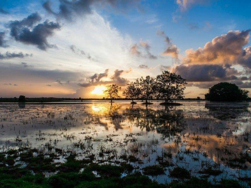 Pôr do Sol na Ilha de Marajó