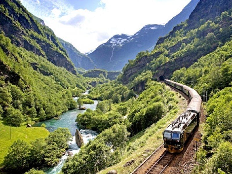 Noruega Fjords - Ferrovia Flan