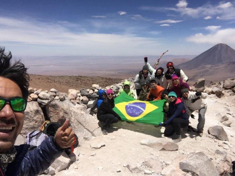 Cume Vulcao Cerro Toco (5.640m) - San Pedro Atacama