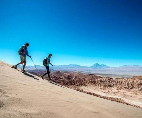 caminhada pelas dunas vale da morte
