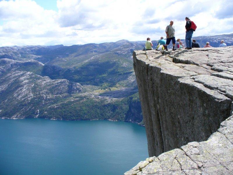 Preiskestolen (Pedra do Púlpito) Stavanger