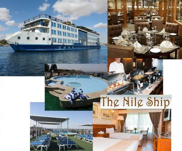 Cruzeiro Rio Nilo - Egito