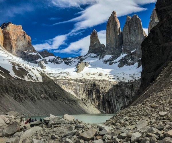 Base das Torres del Pane - Foto: Claudia Ribeiro
