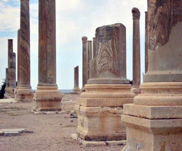 Ruínas no Líbano