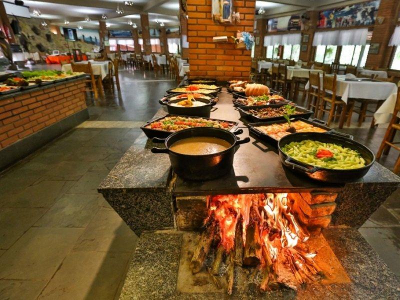 Hotel Fazenda Parque dos Sonhos - Restaurante