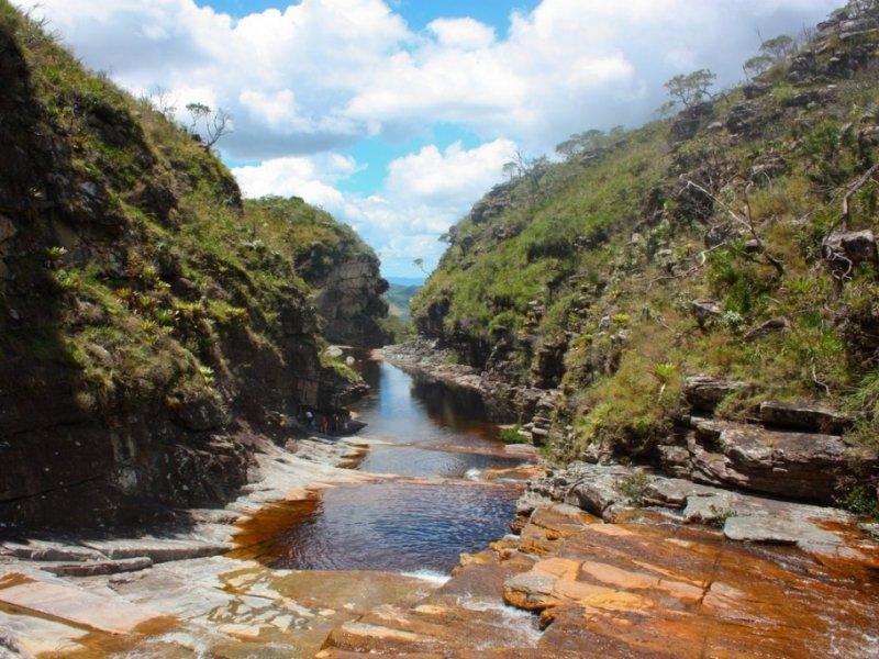 Cachoeira do Tabuleiro por cima