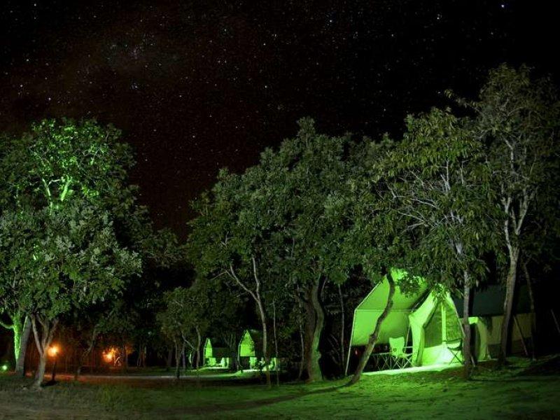 Safári Camp a noite