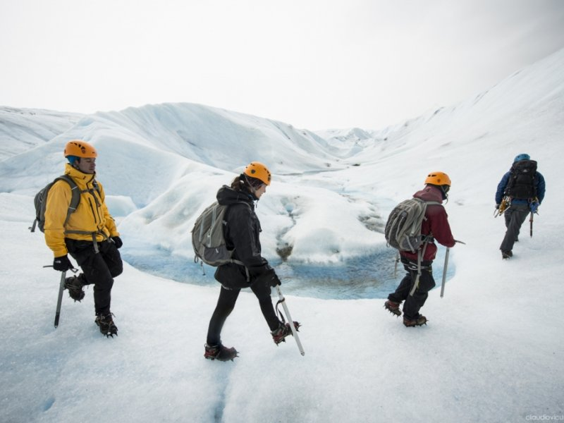 Opcional - Caminhada sobre Gelo Glaciar Grey - Torres del Paine