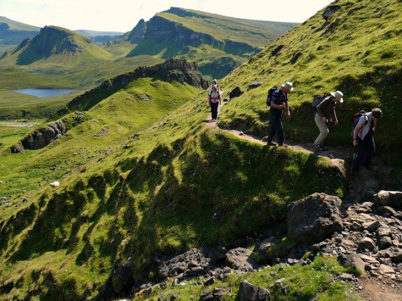 Trekking na Escócia