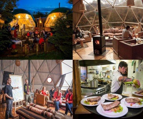 Instalações - Domos Comunitários - Restaurante
