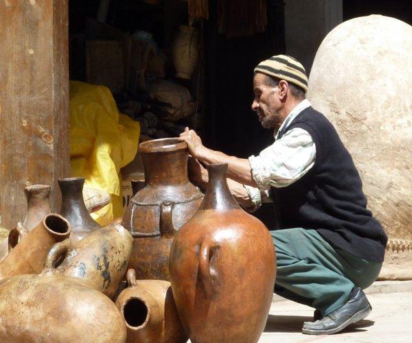 Artesão em Marrakech