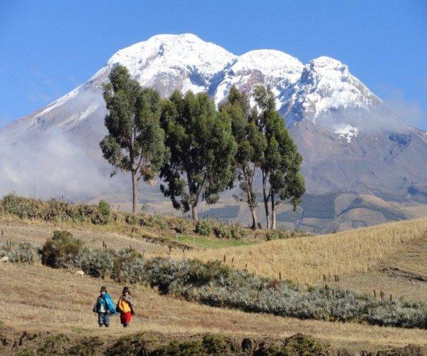 Quito e Avenida dos Vulcões
