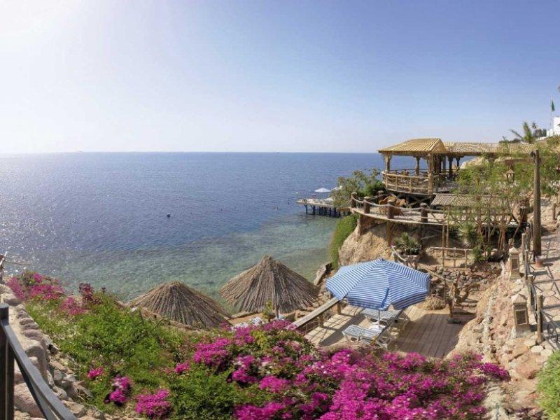 Praia do Hotel Maritim Jolie Ville Golf em Sharm El Sheikh