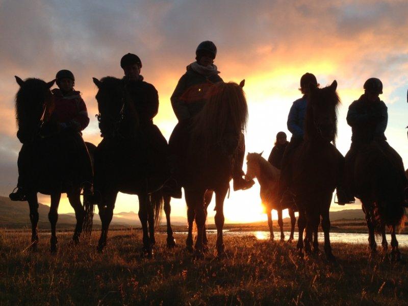 Cavalgada nos Campos de Lava