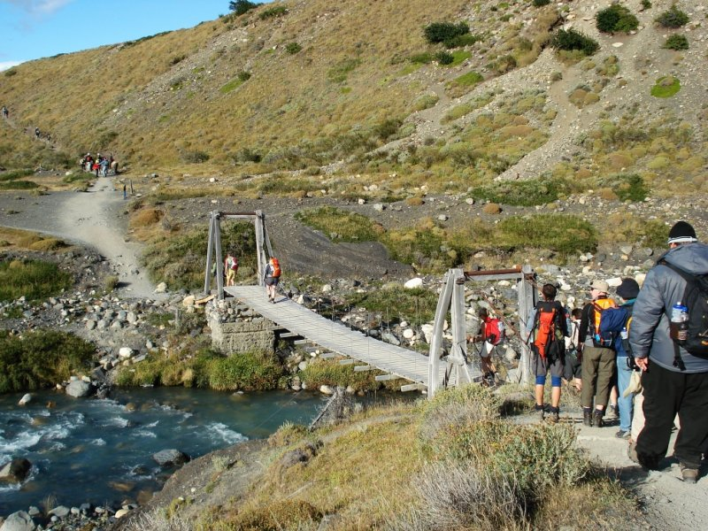 Circuito W : Patagônia aventura circuito w curto torres del paine com ushuaia