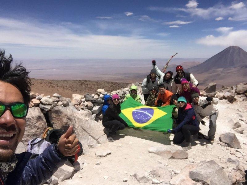 Atacama - Cume Vulcao Toco 5.640m
