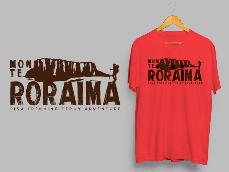 Camiseta Dry Fit Manga Curta Monte Roraima