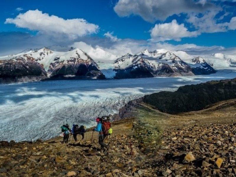 Paso Jonh Gardner - Torres del Paine