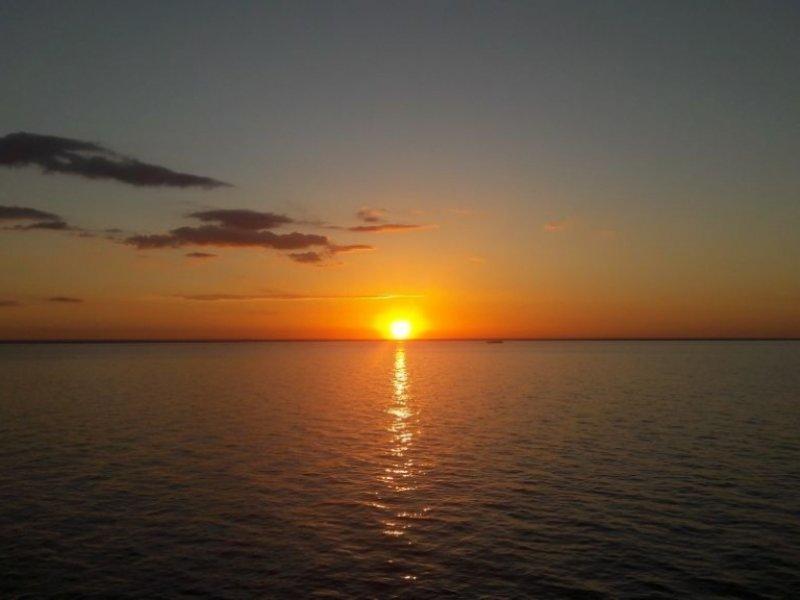 Navegação em Alter do Chão - Pôr do Sol