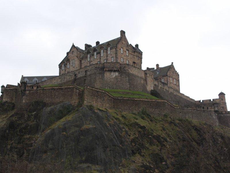 Castelo de Edimburgo - crédito: Patrícia Dozzi