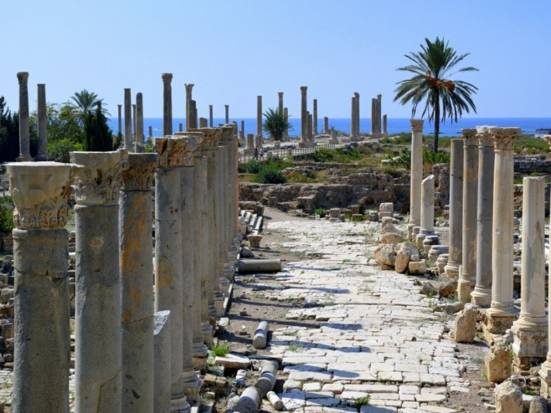Ruínas em Tiro - Líbano