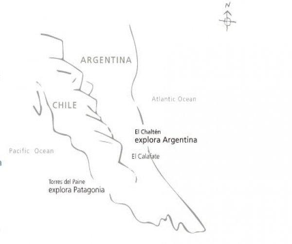 Mapa - Explora El Chalten