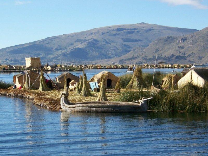 Ilha dos Uros - Lago Titicaca