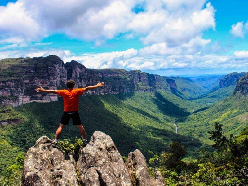Ecoturismo e aventura nas Chapadas do Brasil: Diamantina, Veadeiros e Mesas