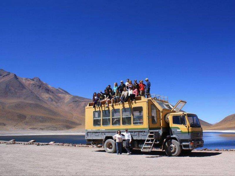 Passeio no Deserto de Atacama