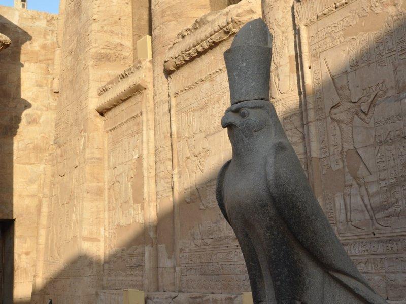 Templo no Egito