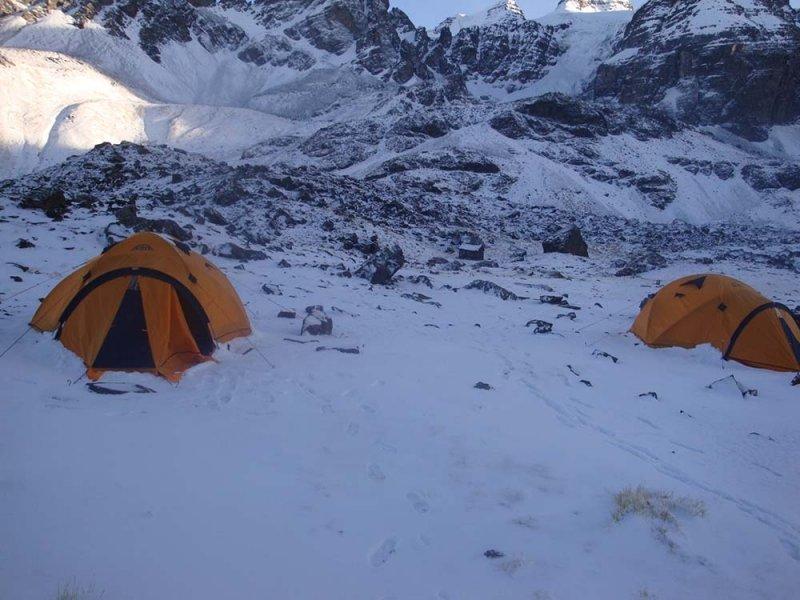 Acampamento Base Condoriri