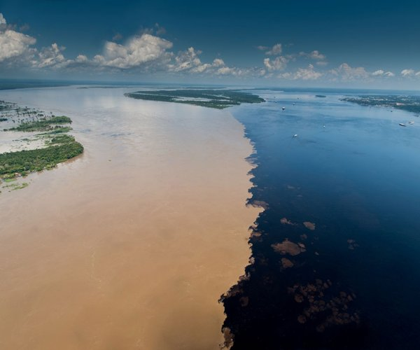 Encontro das Águas - Rio Negro e Rio Solimões
