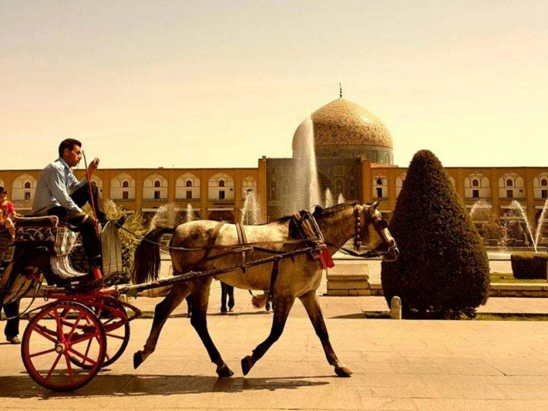 Pacote de viagem para o Irã