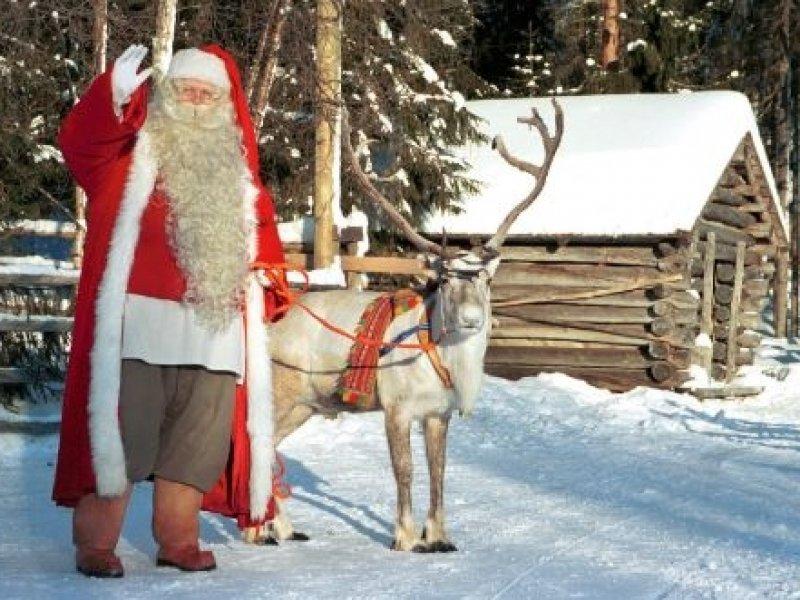Laponia (Finlandia) - Vila do Papai Noel