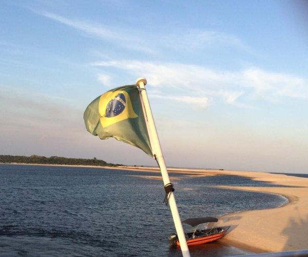 Navegação em Alter do Chão