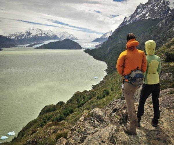 Lago e Glaciar Grey