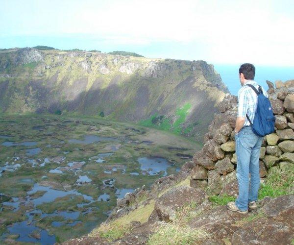 Ilha de Páscoa - Vulcão Rano Kao