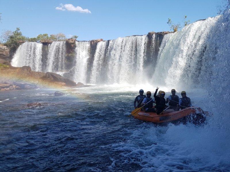 Rafting no Rio Novo